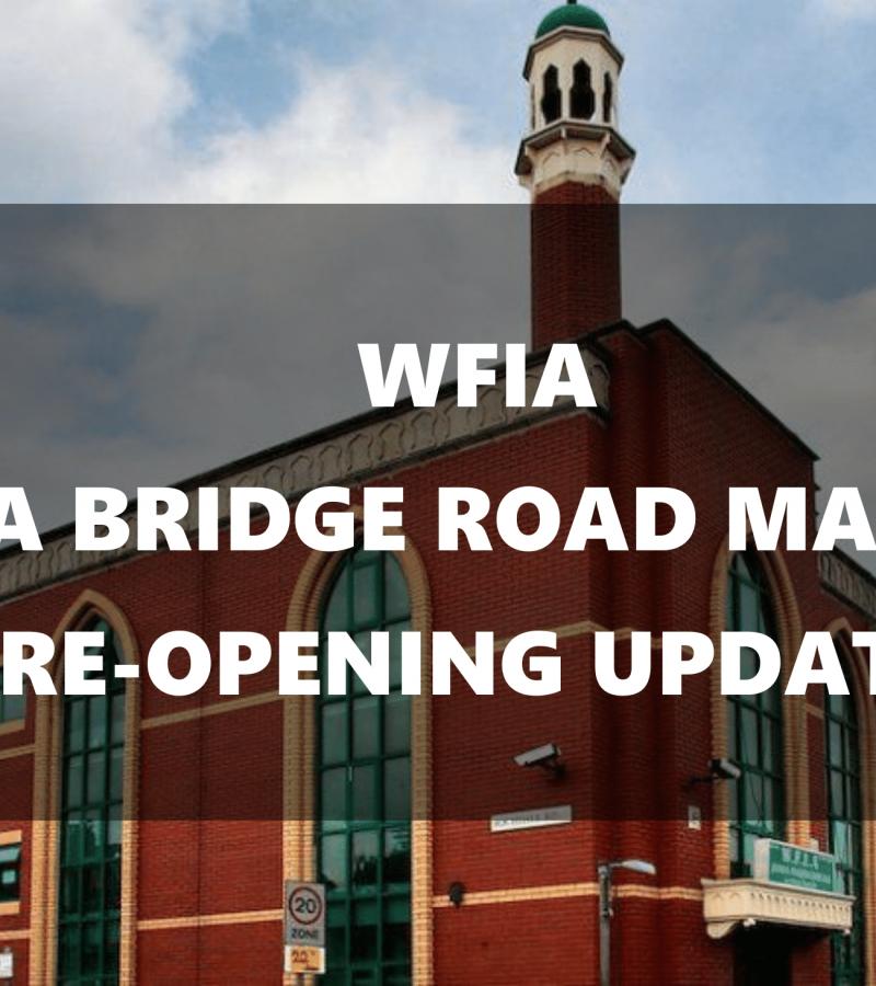 Masjid Reopening Update