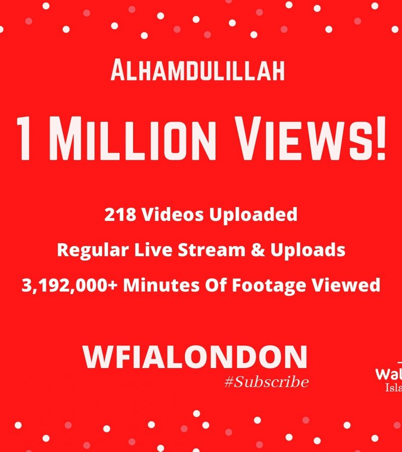 WFIA YouTube Channel Tops 1 Million Views