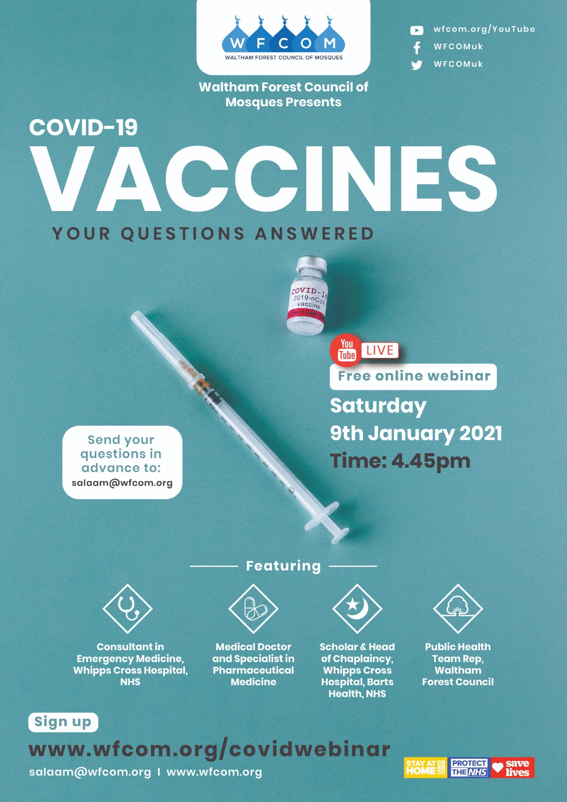 WFCOM Covid-19 Vaccine Webinar Video Replay