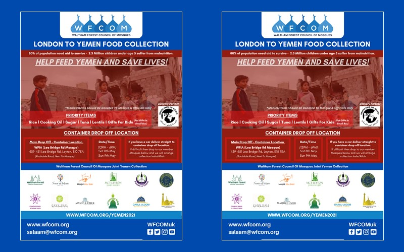 London to Yemen Food Collection
