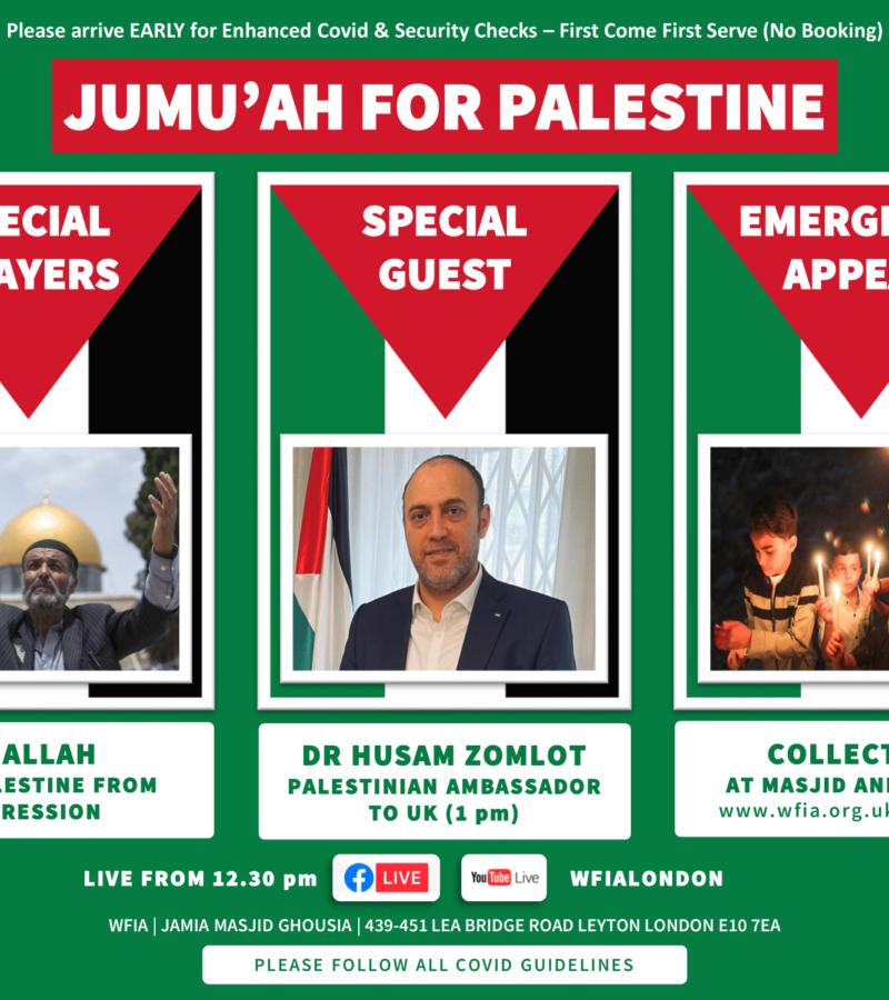 Jumu'ah for Palestine