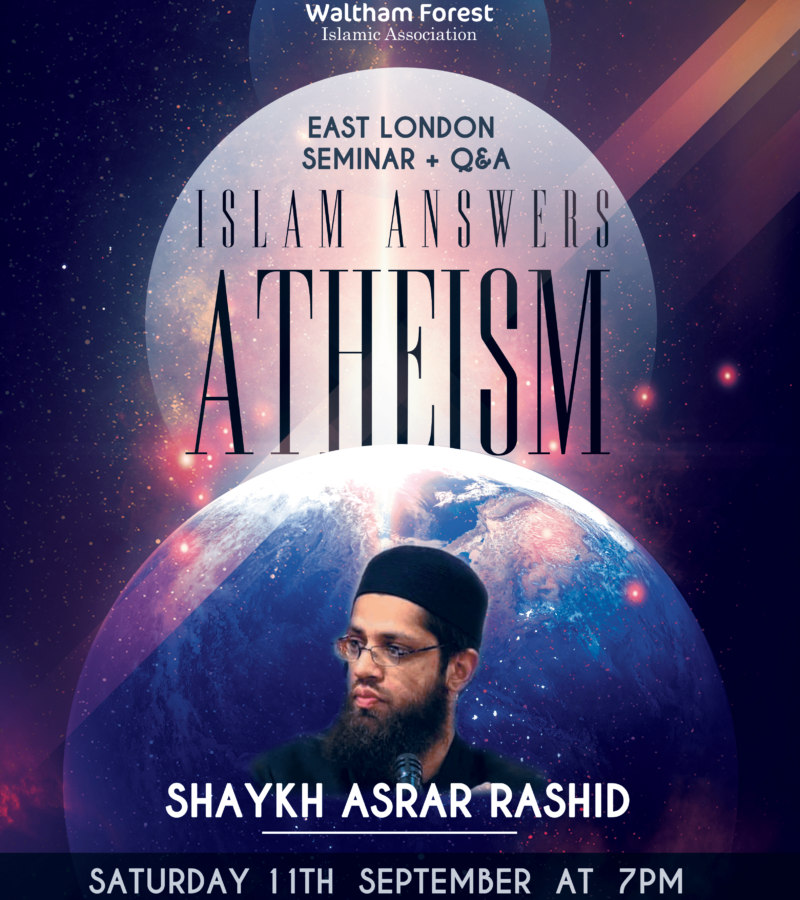 [Event] Islam Answers Atheism – 11 Sep 2021